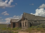 GHOST TOWN OF PIEDMONT, WYOMING ADJACENT TO UPRR MAINLINE ABANDONED IN 1901