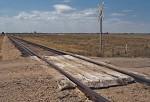 Rural crossing near Julesburg, Colorado