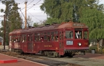 PACIFIC ELECTRIC CARS FORMERLY OPERATED ON LONG BEACH BLVD.
