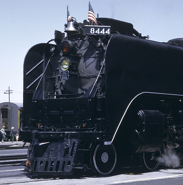 THE LAST STEAM LOCOMOTIVE PURCHASED BY THE UNION PACIFIC RAILROAD